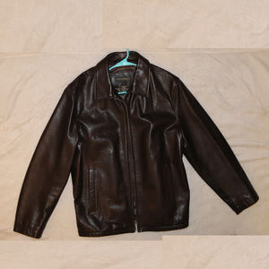 BANANA REPUBLIC FULL ZIP Genuine Leather Jacket